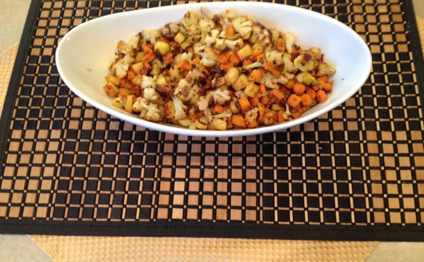 Roasted Veggie Hash