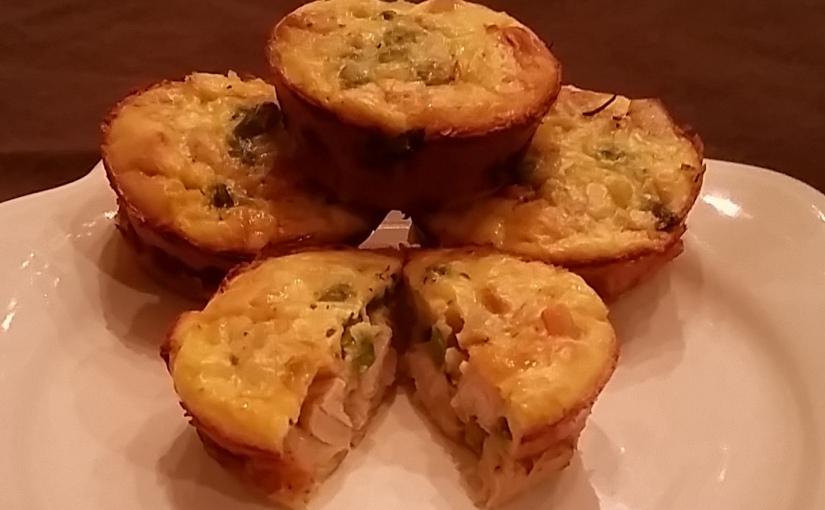 Easy Mini Chicken PotPies