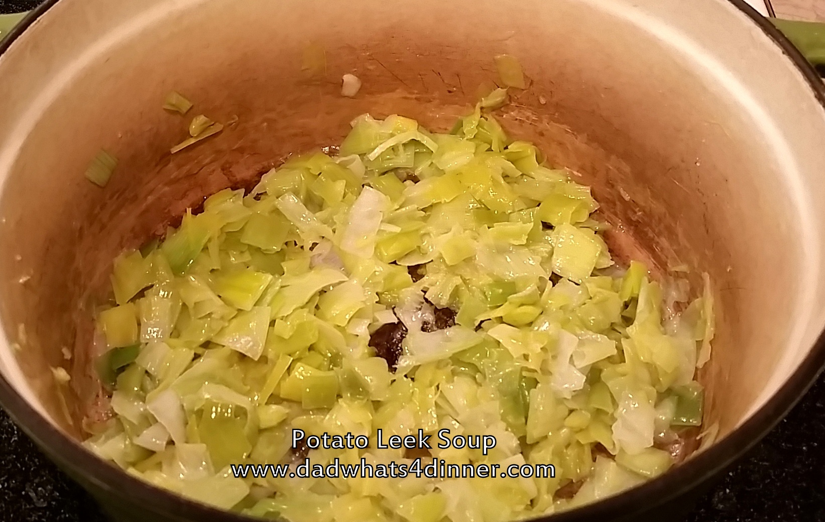 how to cook leeks in soup