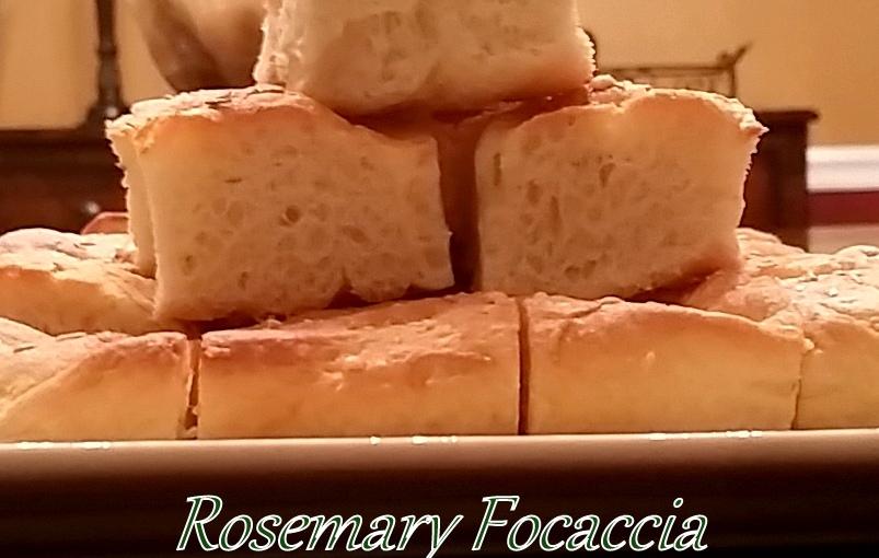Rosemary Focaccia Bread