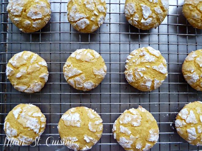 easy lemon crinkle cookies 2