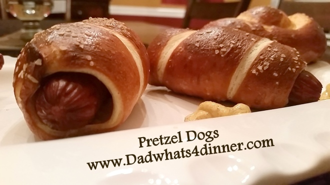 Pretzel Dogs   www.dadwhats4dinner.com