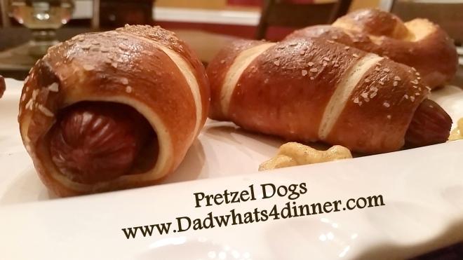 Pretzel Dogs | www.dadwhats4dinner.com