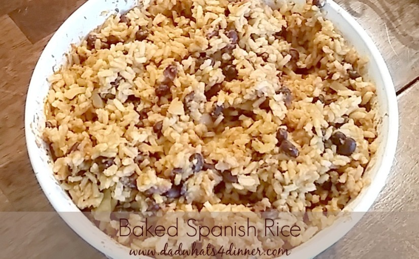 Baked Spanish Rice