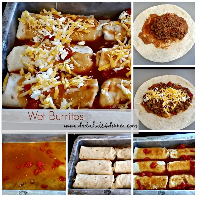 Wet Burritos | Dad Whats 4 Dinner