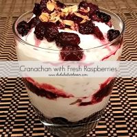 Cranachan with Fresh Raspberries